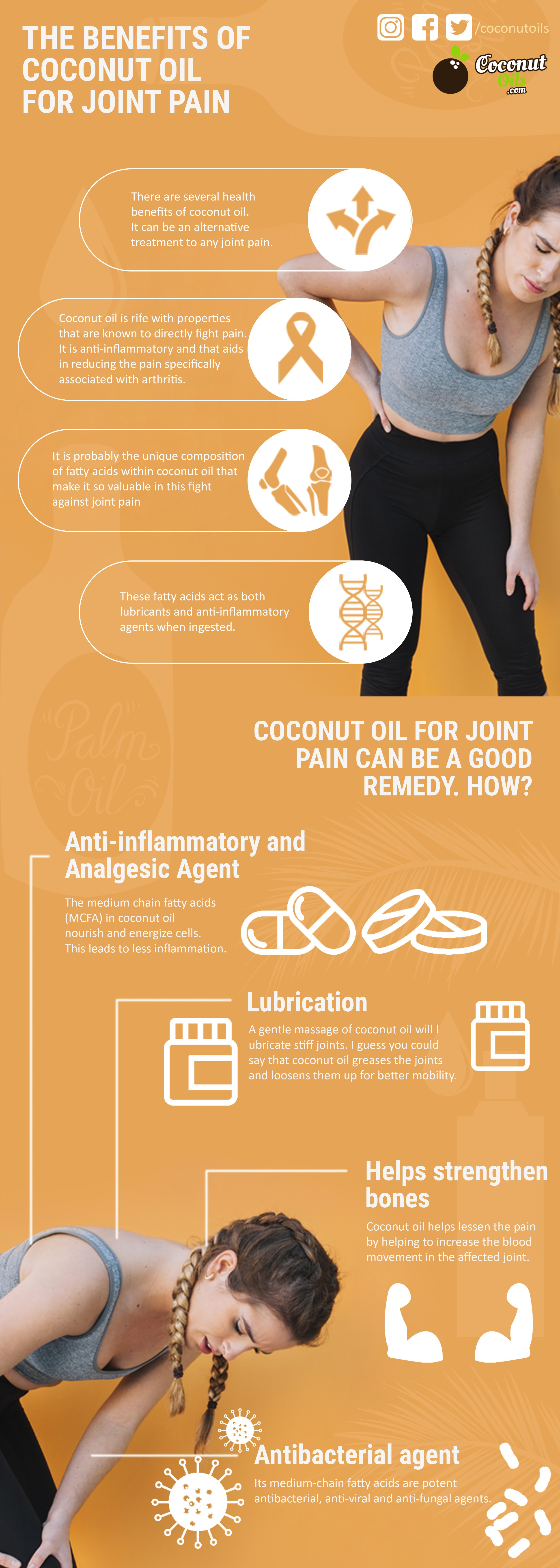 Benefits of Coconut Oil for Joint Pain