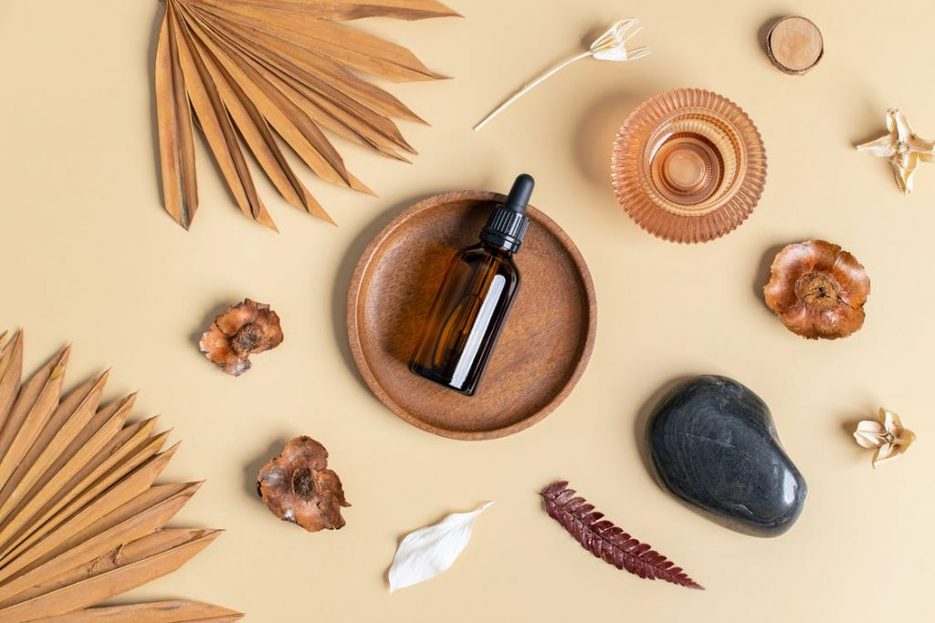 Image of a man washing his face